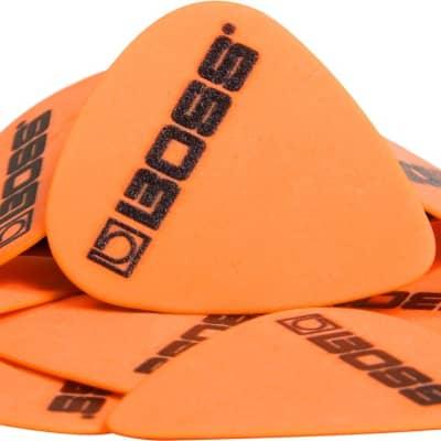 Boss Premium Quality Delrin Picks - 12 Pack - Medium/Thin