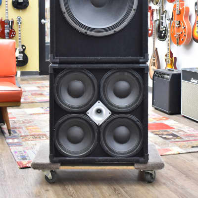 "SWR 1x18"" Big Ben and 4x10"" Goliath Speaker Cabinets"