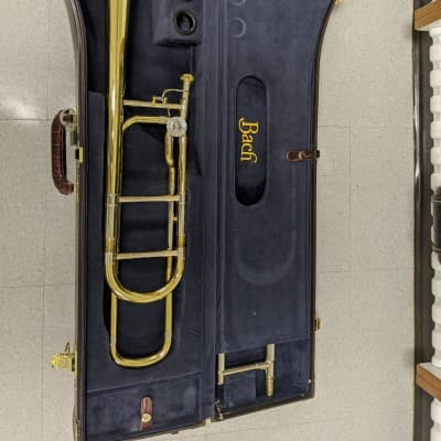 2018 Bach 42BO Stradivarius Series Tenor Trombone w/ Open Wrap F Attachment Standard Rotor Valve