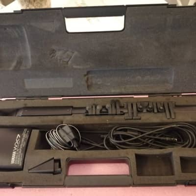 Yamaha WX7 Wind controller with Case, AC adapter and accessories