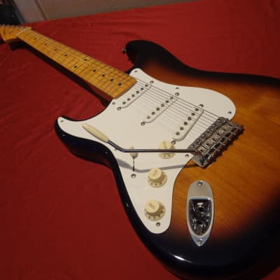 Fender American Vintage '57 Reissue Left Handed Stratocaster 2012 Sunburst for sale