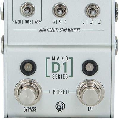Walrus Audio MAKO Series D1 High-Fidelity Stereo Delay Pedal (900-1051)