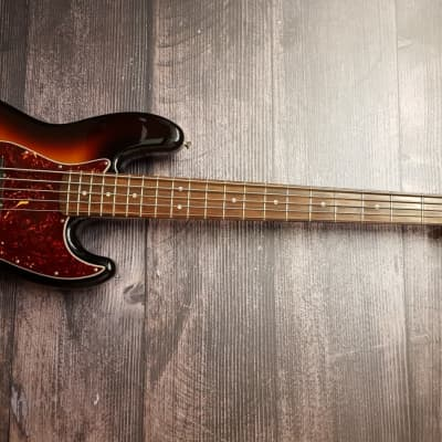 2006 Fender Jazz Bass Active Deluxe V w/ Case for sale
