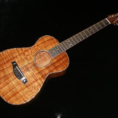 Pegasus Custom 12 string Koa wood guitar 2013 Red/brown Koa (VIDEO)https://www.youtube.com/watch?v=s for sale