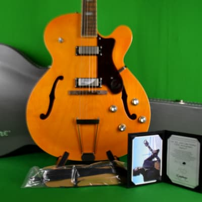 Epiphone John Lee Hooker 100th Anniversary Zephyr Outfit with Case, Strap and COA for sale