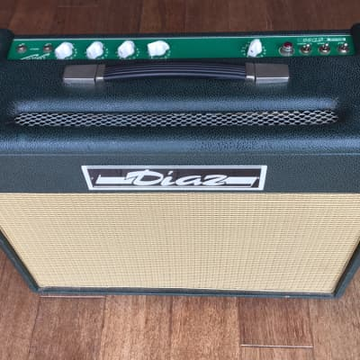 1995 Diaz CD-30 Club Classic 2x10 Combo - Best Fender Vibroverb/Deluxe/Twin Reverb made by the Master - Rare! for sale