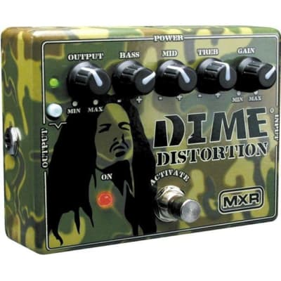 MXR DD11 Dime Distortion Pedal for sale