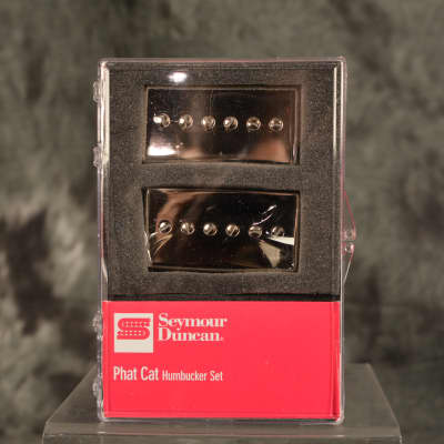 Seymour Duncan Phat Cat Humbucker Set Nickel Brand New w/ Fast & Free Same Day Shipping!