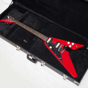 Dean Michael Schenker V Red and Black Graphic