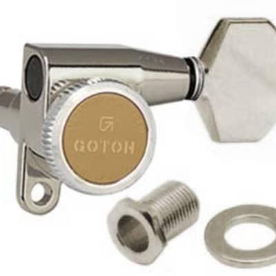 NEW Gotoh SG360-07 MGT 6 In-Line MAGNUM LOCK Locking Mini LEFT-HANDED BLACK
