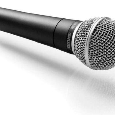 Shure SM58 Handheld Cardioid Dynamic Microphone Black