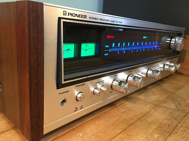 Near Mint Pioneer SX-636 Vintage Receiver LED Upgrades Time Capsule Almost  Like New Audiophile Hi-Fi