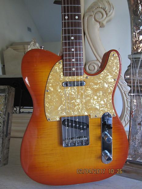 Fender foto flame telecaster price 86