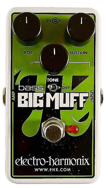 electro harmonix nano bass big muff pi 2019 white green black reverb. Black Bedroom Furniture Sets. Home Design Ideas