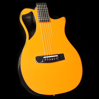 Journey Instruments OF660 Carbon Fiber Acoustic-Electric Guitar Burnt Orange image