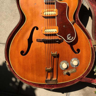 Epiphone Zephyr Regent Deluxe 1947 Blonde for sale