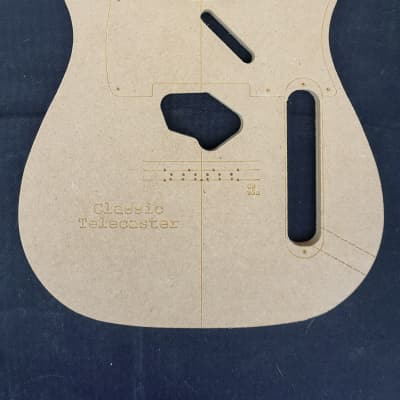 guitar building templates classic telecaster template luthier tools