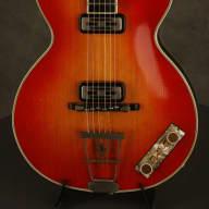 Hofner CLUB 60 w/TOASTER pickups! #195 made 1959 Cherry Sunburst for sale