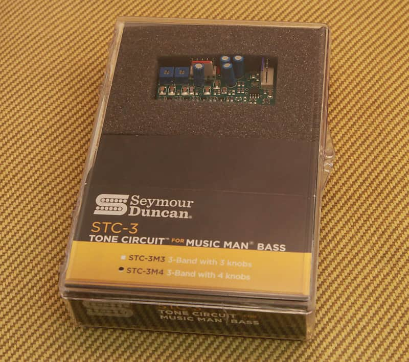 Seymour Duncan STC-3M4 Preamp Music Man Tone Circuit NEW