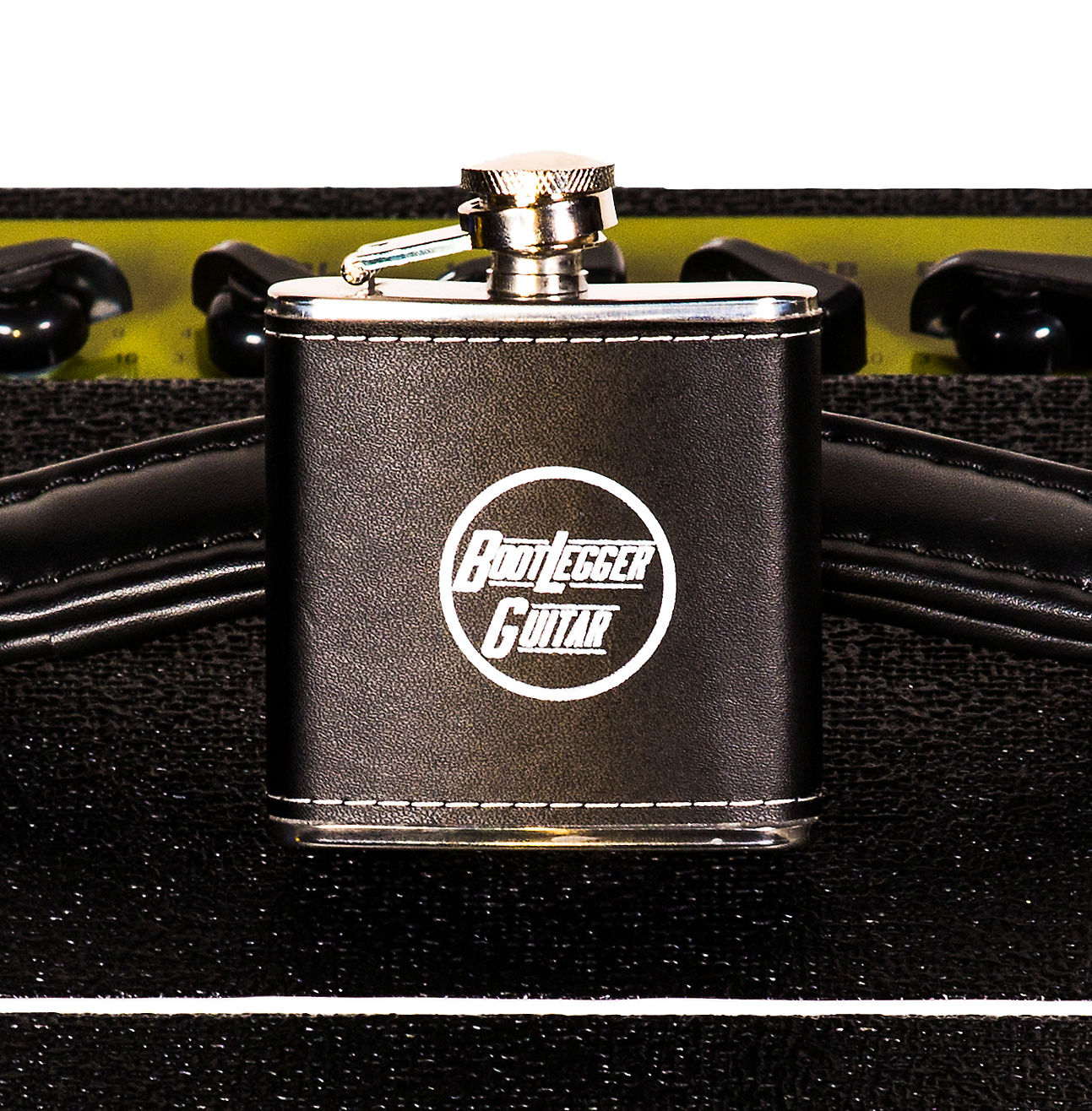 Bootlegger Leather Flask