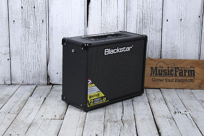 blackstar id core 40 v2 electric guitar amplifier 40 watt reverb. Black Bedroom Furniture Sets. Home Design Ideas
