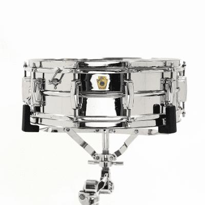 "Ludwig No. 400 Supraphonic 5x14"" Aluminum Snare Drum with Keystone Badge 1963 - 1969"
