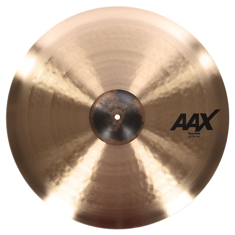 sabian 22 aax thin ride cymbal chicago music exchange reverb. Black Bedroom Furniture Sets. Home Design Ideas