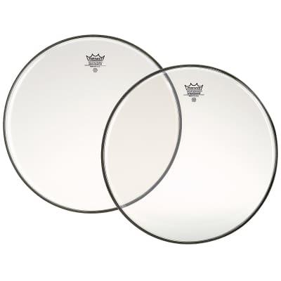 """Remo Clear Ambassador Batter Drumhead - BA031500 15"""""""