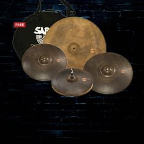 """Sabian XSR5005M XSR Monarch Set 15/17/19/22"""" Cymbal Pack"""