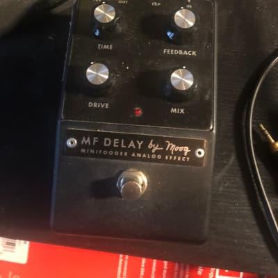 Moog MF Delay minifooger 2011-2014 Black for sale