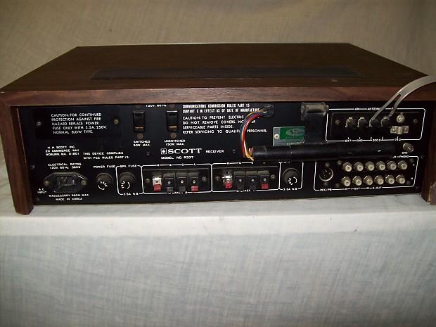 Scott R 337 Am Fm Stereo Receiver Reverb