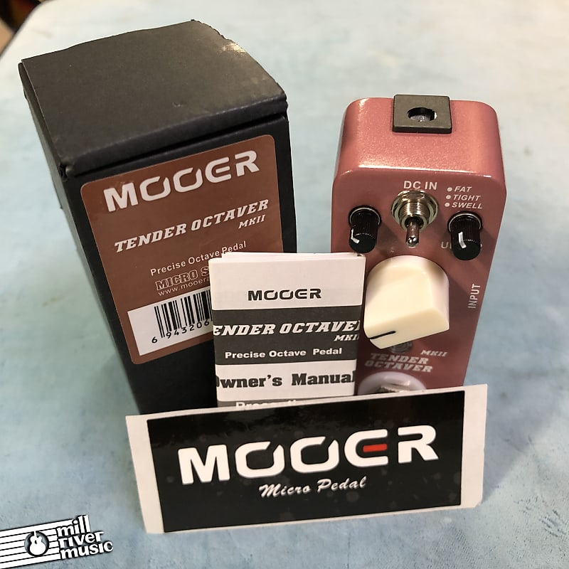 Mooer Tender Octaver MKII Precise Octave Micro Effects Pedal w/ Box