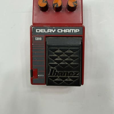 Ibanez CD10 Delay Champ Analog Rare Vintage Guitar Effect Pedal MIJ Japan