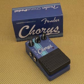 023-4503-000 Fender Guitar Competition Racing Stripe Blue Chorus Pedal for sale