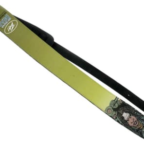 """Peavey PV03020260 The Walking Dead 2.5"""" Leather Guitar Strap"""