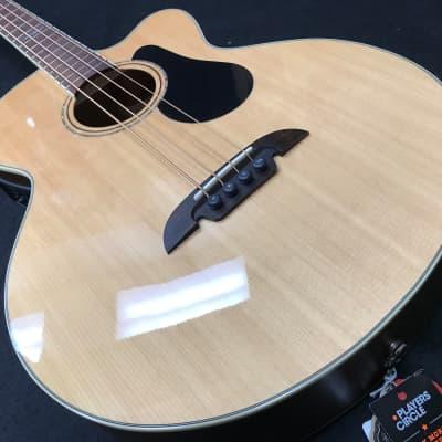 Alvarez AB60CE Artist Series Cutaway Acoustic Bass w/ Electronics Natural for sale