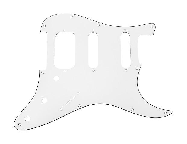 920d strat 3 ply hss pickguard fender stratocaster cnc cut reverb Fender 12 String Martin Guitar with Pick Up 920d strat 3 ply hss pickguard fender stratocaster cnc cut white