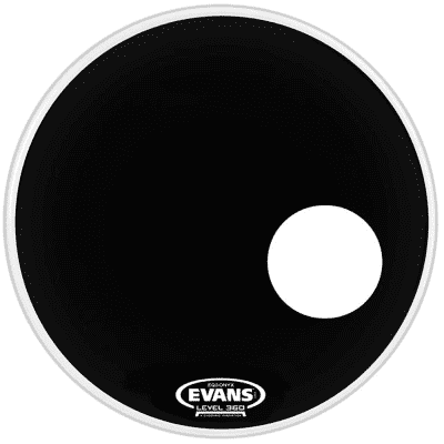 Evans BD24RONX Onyx Resonant Bass Drum Head - 24""
