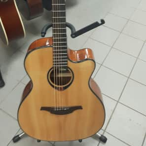 Lag T80ACE Tramontane Auditorium with Cutaway Natural