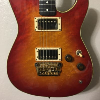 1983 Ibanez Roadstar II Series RS1000 Cherry Sunburst w/ Super 58 Pickups, Japan for sale