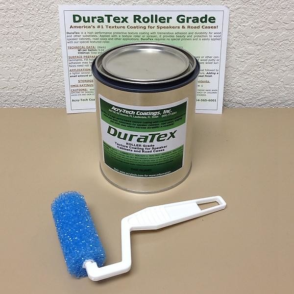 DuraTex Speaker Cabinet Texture Coating Roller Grade Quart (1 | Reverb