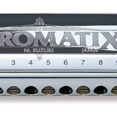Suzuki SCX-64 Chromatix Series Key of C 16 Hole Harmonica