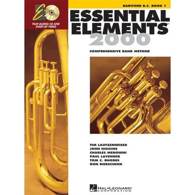 Essential Elements 2000: Comprehensive Band Method -  Baritone B.C. | Book 1 (w/ CD)