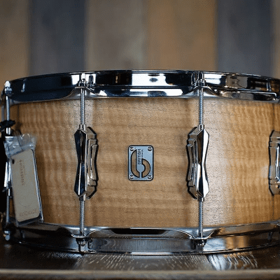 "British Drum Company Maverick 14x6.5"" 10-Lug Maple Snare Drum"