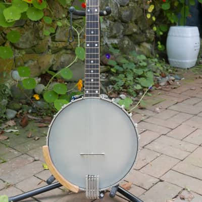 Wildwood Exotic Wenge Ministrel Wenge 5 String Openback Banjo for sale