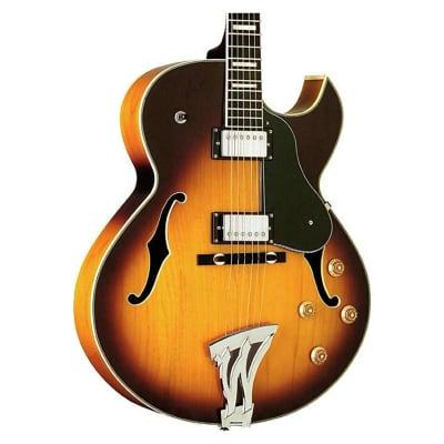 Washburn J3TSK Jazz Electric Guitar and Case for sale