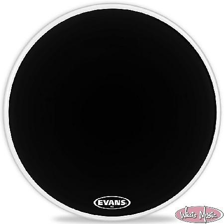 evans mx2 black marching bass drum head 26 inch reverb. Black Bedroom Furniture Sets. Home Design Ideas