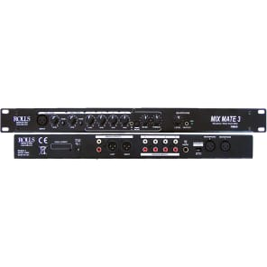 Rolls RM69 MixMate 3 6-Channel Mic/Line Mixer with Phantom Power