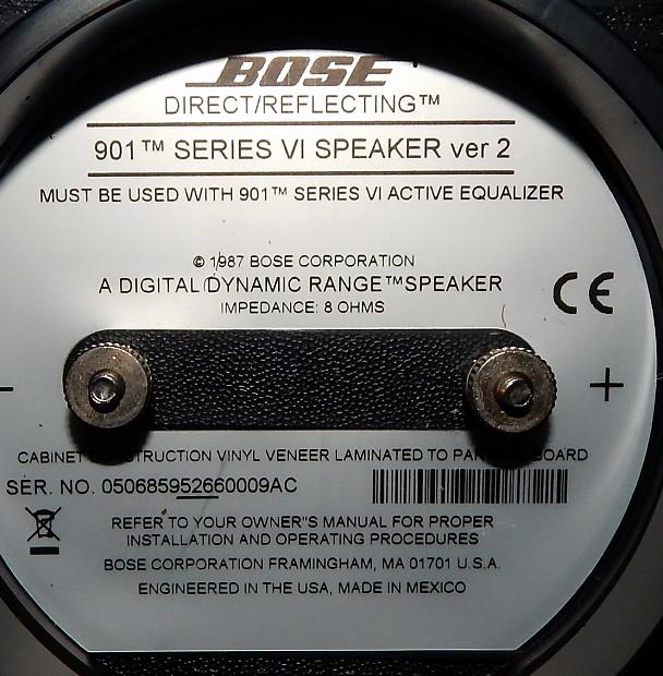 Bose 901 series vi ver2 | reverb.