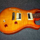 PRS SE Custom 22 Semi-Hollow Very Nice Top with PRS Gig Bag and Free Shipping image